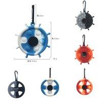 Fidget Toys Poussez-le Coloré Sensory Finger Bulles Simple Decompompression Decompompression Joueur Play Anti-stress Spinner