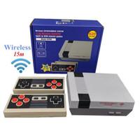 620 في 1 جديد 8 بت 2.4 جرام لاسلكية يمكن تخزين 620 فيديو لعبة وحدة التحكم الرجعية التلفزيون وحدة مربع av الإخراج المزدوج لاعب تحكم