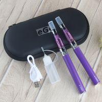Ugo Ce4 Double Kit Elektronische Zigarette 2 * UGO-T-Batterie + 2 * Ego CE5 Zerstäuber Vape E-Zigarette Reißverschluss Hülle Dampf Hukah Stift
