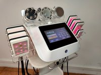 6 i 1 spa Microcurrent Face Lift Lipo Cavitation Slimming Machine RF Skin Åtdragning Laser Lipo