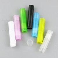 500pcs 5ml Empty Clear Lip Gloss Tube Lip Balm Lipstick Bottle Container Beauty Tool Mini Sample Refillable Lipgloss Bottle