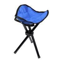 Acessórios de pesca triângulo banquinho dobrável conveniente cadeira de praia leve portátil para piquenique churrasqueira camping (vermelho)