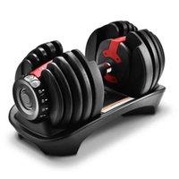 Ayarlanabilir dumbbells 5-52.5 lbs fitness egzersizleri Dumbbells ağırlıkları Kaslarınızı oluşturun Spor Fitness Malzemeleri Ekipmanları