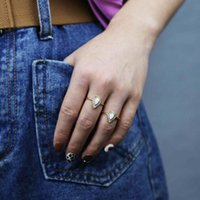 Trouwringen Limited Promotion Delicate Water Drop Opal met Sprankelende Tiny 5a Cubic Zirkoon voor Vrouwen Lady Lover Finger Ring