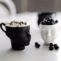 Кружки Детские Аватар Чашка Чашка Человека Портрет Молоко Хэллоуин Party Реквизит Взрослый напиток Керамические ремесленные подарки