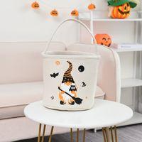 24 * 23 cm Halloween Party Supplies 12 Arten DIY Candy Eimer Halloweens Tote Bag Kürbis Handtasche B3