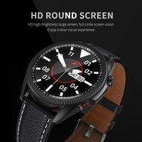 الرجال الفاخرة m98 smartwatch بلوتوث دعا reloj inteligente الرياضة اللياقة البدنية القلب معدل ضغط الدم الأكسجين مراقب IP68 للماء