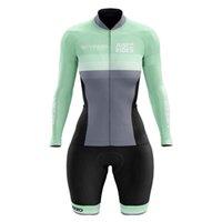Vezzo Femme Summer Housse à manches longues Jersey Jersey Body Body Vêtements Macaquinho Ciclismo Feminino Triathlon MTB Vêtements