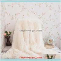 Textiles Home & Gardenshaggy Throw Soft Plush Bed Er Blanket Fluffy Faux Fur Blankets For Beds Couch Sofa Manta Christmas Present Dropship1