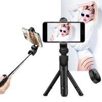Selfie Stick 3 في 1 هاتف ترايبود قابل للتمديد Monopod مع Bluetooth Remote لل Smartphone Selfies العصي