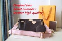 2021 mujer de alta calidad de lujo diseñadores bolsas cruzadas billetera backpack bolsos bolsos bolsos bolsas bolsa bolsa de hombro Mini conjunto de 3 piezas
