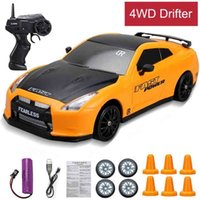 High Speed Powerful 4WD RC Car Drift Toy 2.4G Rapid Drifter Racing Game Car Remote Control Model Vehicle Kids Toys for Boy Carro 210729