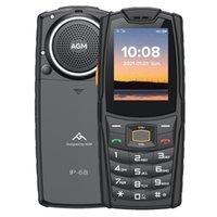 AGM M6 4G Red Phone, EU Version IP68 IP69K MIL-STD-810G Waterproof Dustproof Shockproof, 2500mAh Battery, 2.4 inch, Network: 4G, BT, FM, Torch