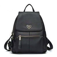 Bag Women Simple Fashion Shoulder Bags Litchi Pattern College Style Backpack Female Korean Casual Large Capacity Travel6029
