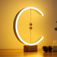 Modern Intelligent Desk Lamp Creative Magnetic Suspension Ba...