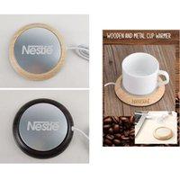 UPS бесплатная доставка USB нагреватель молочный чай кофе кружка теплее офисная чашка коврик падебник поднос для офисного дома зима бесплатный пользовательский логотип