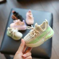 الطفل الأول مشوا أحذية الرضع طفل الفتيات بنين أحذية ربيع الخريف أحذية رياضية الجري الأحذية الرياضية 1-3y عارضة ارتداء B8302
