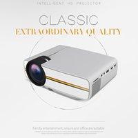 YG400 Mini Taşınabilir LED Projektör 1000Lümen 800 * 480 DPI LCD Homeater Projektör Desteği 1080 P Proyector HDM VGA USB Projektör DHL Nakliye