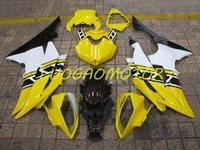 Spritzguss-ABS-Verkleidungen Kit Full-Verkleidungs-Kits für Yamaha YZFR6 YZF R6 2008 2009 2010 2011 2012 2013 2015 2015 2011 2012 2012 2013 2015-2016 2014 08 09 10 11 12 13 14 15 16 blau weiß schwarz Wel-Karosserie