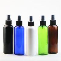 200ml rond d'épaule pulvérisateur de pulvérisation de pulvérisation de pulvérisation de bouteilles de maquillage fine brume 6 couleurs