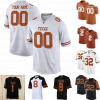 Jersey texas texas longhorns personalizzato Texas Longhorns # 7 Jake Smith # 9 Jamie Newman # Anyname Men Youth Women Jersey