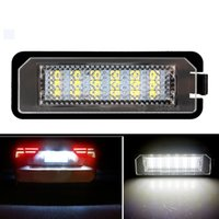 CANBUS LED Number License Plate Light for VW GOLF 4 5 6 7 Polo Passat 4D Scirocco No Error Tail Lamps Car Lights 12v