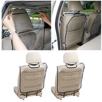 Car Seat Covers 2pcs Back Protector Cover For Children Kids Baby Anti Mud Dirt Auto Cushion Kick Mat Pad Accessories