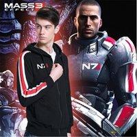 Mass Effect Hoodies Men Anime Zipper Sweatshirt Male Tracksuit Cardigan Jacket Casual Hooded Hoddies Fleece Jacket N7 Costume LJ200826