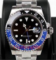 새로운 상위 세라믹 손목 시계 온라인 베젤 자동 2813 무브먼트 망 기계식 스테인레스 스틸 마스터 남성 패션