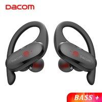 Dacom Athlete Tws Bluetooth 이어 버드베이스 트루 무선 스테레오 이어폰 스포츠 헤드폰 EAR 후크 Android IOS 방수 용