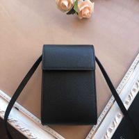 Fashion mini fun mobile phone messenger bag designer small exquisite leather high quality Korean simple versatile style