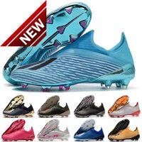 2022 X 19+ FG Mens low ankle Football Shoes Redirect Pack Inner Game women kids Boots Soccer Cleats botas de futbol EUR35-45
