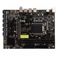 Motherboards B250 BTC Mining Machine Motherboard ATX LGA1151 12 Graph Card Slot USB3.0 To PCI-E Interface INTEL 1151