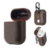 Avec des lettres métalliques ARIPODS Pro Case sans fil Bluetooth casque à manches de protection Mode Airpods créatifs 1/2 cas de casse-tête Couleur Laser
