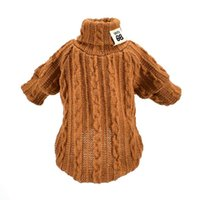 Dog Apparel Pet Winter Knitted Clothes Warm Jumper Sweater For Small Large Dogs Clothing Outfit Jersey Perro Jerseys