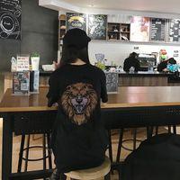 2021 Novo Diamante Stone T Shirt Fashions Meninas Loose Design Tshirt Top Verão T-shirt feminina 4xev