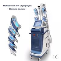 새로운 다기능 뚱뚱한 동결 기계 40K Cavitation 진공 체중 감량 바디 조각 Cryolipolysis 턱 제거 바디 슬리밍 기계
