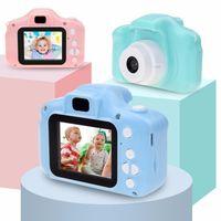 Лучший мини-мультфильм Возьмите Фото 2 дюйма HD-экран Детская цифровая камера Видеорегистратор видеокамера Научные игрушки оптом для детей подарок