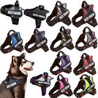 New Dog Peito Strap Traction Cinto Vest Tipo Grande Cão De Tracção Cinto Pet Leashhes ZC114