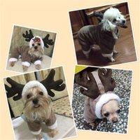 Elk a transformé en manteau de compagnie Vêtements Vêtements quatre pattes Vêtements Hoode Chien Coteau Jacket Costumes de compagnie pour Teddy Pet 21 S2