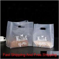 Gracias Bolsa de regalo de plástico Paño Bolsa de almacenamiento de tela con mango Party Body Plastic Candy C WMTONP JMG2U T2HQK