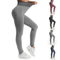 Women's Leggings Women High Waist Dot Fitness Leggins Stretch Sportswear Ladies Sexy Workout Casual Seamless Pants
