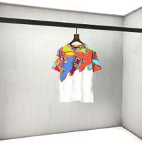 EU 크기 남성 스웨터 정장 후드 캐주얼 패션 컬러 스트라이프 인쇄 아시아 크기 고품질 야생 통기성 긴 소매 19m 티셔츠