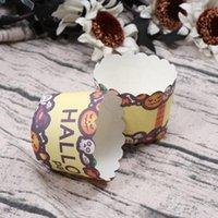 100 шт. Haollwows Cipcake Wrappers Выпечки Булочки Кубок Термостойкий кекс Кушки для тортов Десерты Конфеты