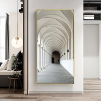 Paintings Wall Art Architecture Arches Islamic Moroccan Arch Mosque Poster Canvas Painting Muslim Prints For Living Room Home Decor