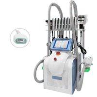 Neueste Cryolipolyse Fett Gefriermaschine Lipolaser Persönliche Verwendung Kryotherapie Lipo Laser Ultraschallkavitation RF Abnehmen Schönheitsmaschine