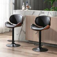 Produttore all'ingrosso Altri mobili in metallo Vintage Eco Eco Amichevole Sgabelli Modern Black Sgabello sgabello imbottito Sgabello da bar
