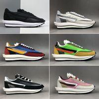 جودة عالية ssacai x lvd الوفل daybreak أحذية رياضية رجل إمرأة الأزياء عارضة عداء الأحذية الكلاسيكية الركض المشي المشي حذاء المشي