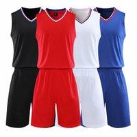 Пустой баскетбол Джерси Женский и молодежный индивидуальный мужской мужской и дышащей тренировочной команды