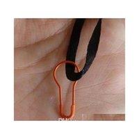 Pin de sécurité coloré de 22mm en ampoule / en forme de poire Style de Croîcheur 1000 pcs par PA JLLHHT YY_DHHOME